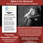 November 3rd | Right In Our Backyard: The Drug AddictionEpidemic in Suburbia